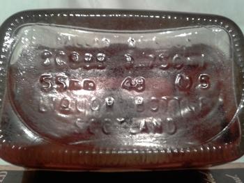 ballantine's 1970 12 yo bottom