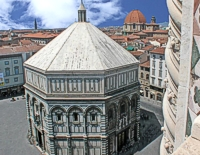 External of florence baptistry