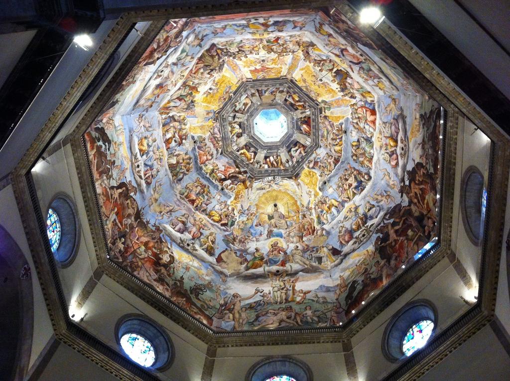 Firenze Duomo Battistero Campanile Di Giotto