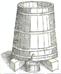the wood vat (oak
