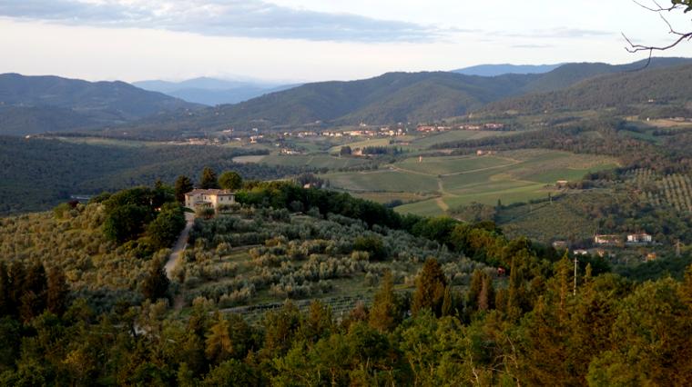 Passo dei Pecorai in Chianti - escursioni nella natura.